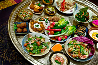 Beautiful Moroccan food