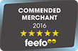Feefo Encounters Recommended Merchant