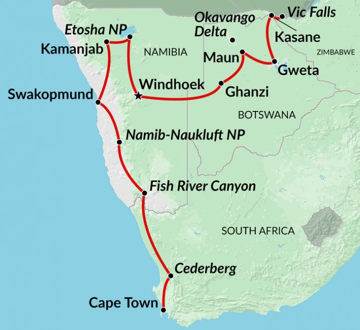 Cheap safari holidays to Africa, budget group adventures ...