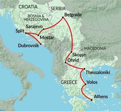 Balkans Explorer - 11 Day Croatia Tour and Travel Package