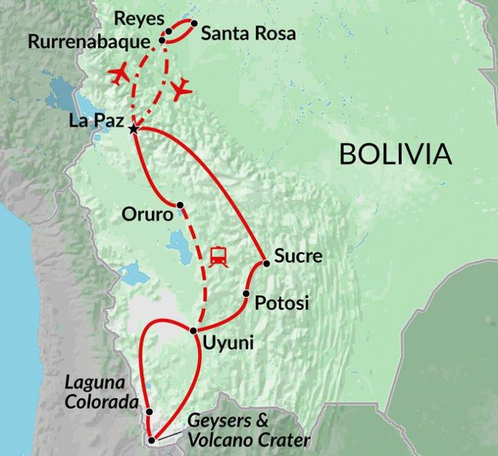 Bolivian Encounters Amazon jungle adventure Bolivia tour