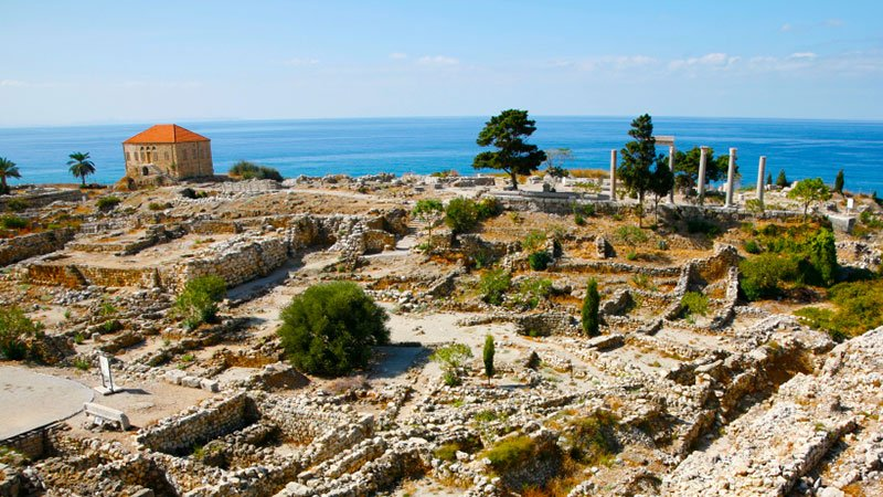 Ruins at Byblos, Lebanon