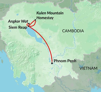 Cambodia Encounters - 6 Day Cambodia Tour and Travel Package