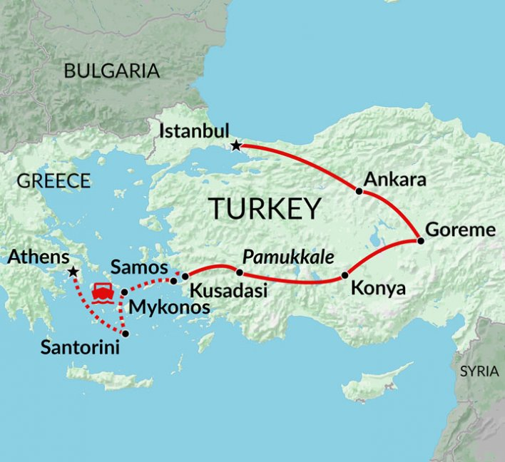 Classic Turkey & Greek Islands | Greek Islands & Turkey holiday ...