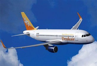 Druk Air flights from Singapore