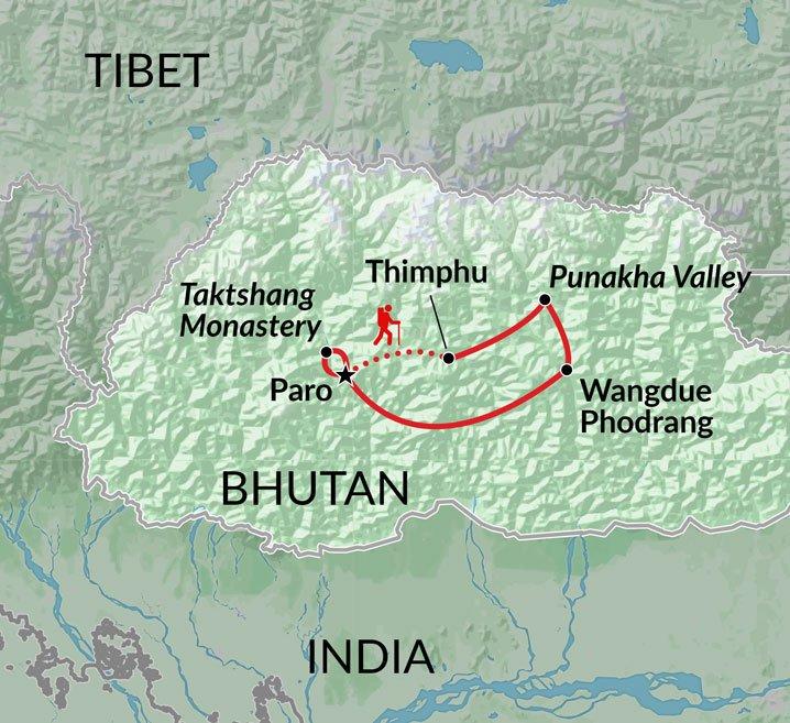 Druk Path Trek Sightseeing trekking Bhutan tour Encounters