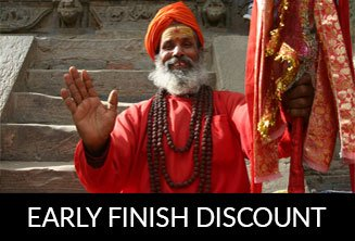 Pokhara early finish discount
