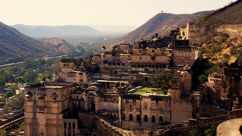 Fort in Bundi, Rajasthan, India
