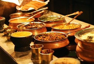 Cook with a Hindu family in Agra