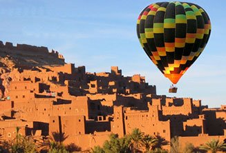 Marrakech Hot air balloon flight