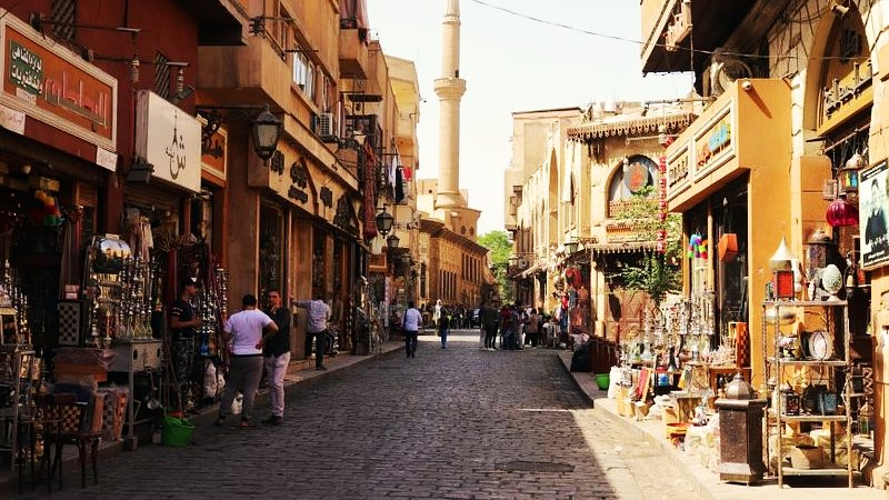 Old Cairo streets