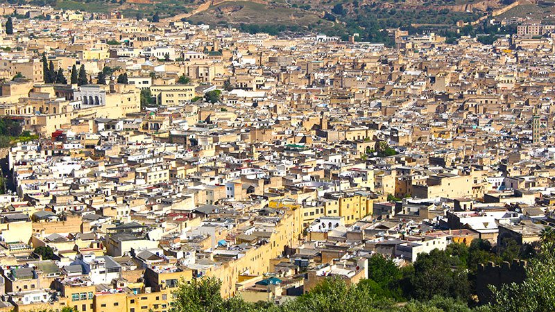 Old Fez, Morocco