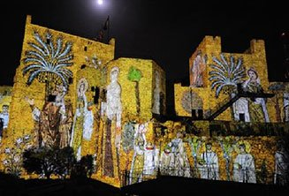 Sound & Light show at Jerusalem's Citadel