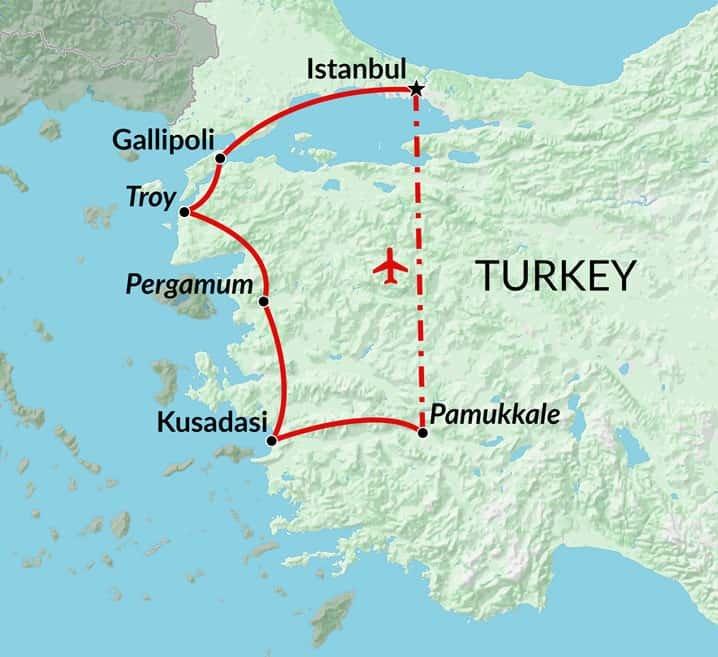 Taste of Turkey Istanbul holiday Turkey tour Encounters Travel