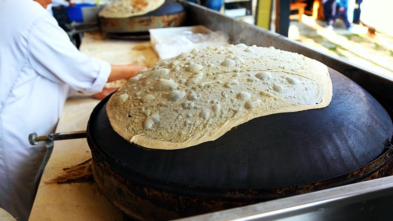 Traditional Lebanese bread