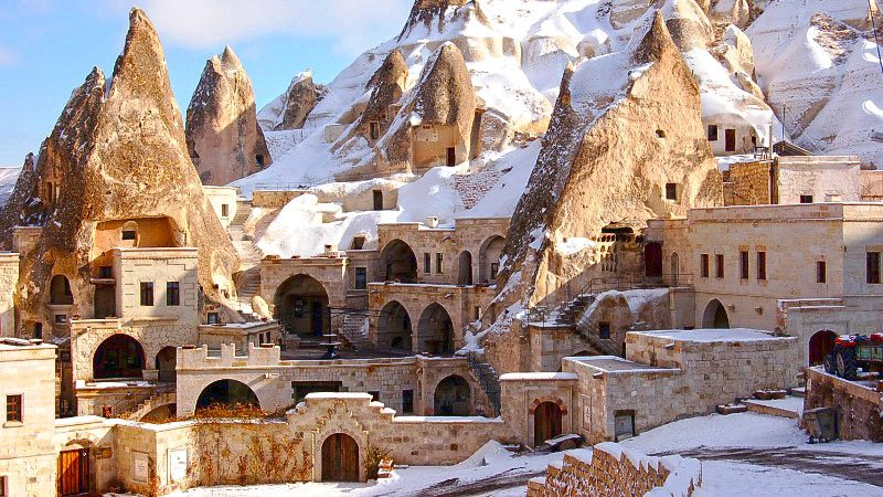Winter in Cappadocia, Turkey