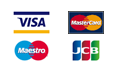 Payment cards we accept